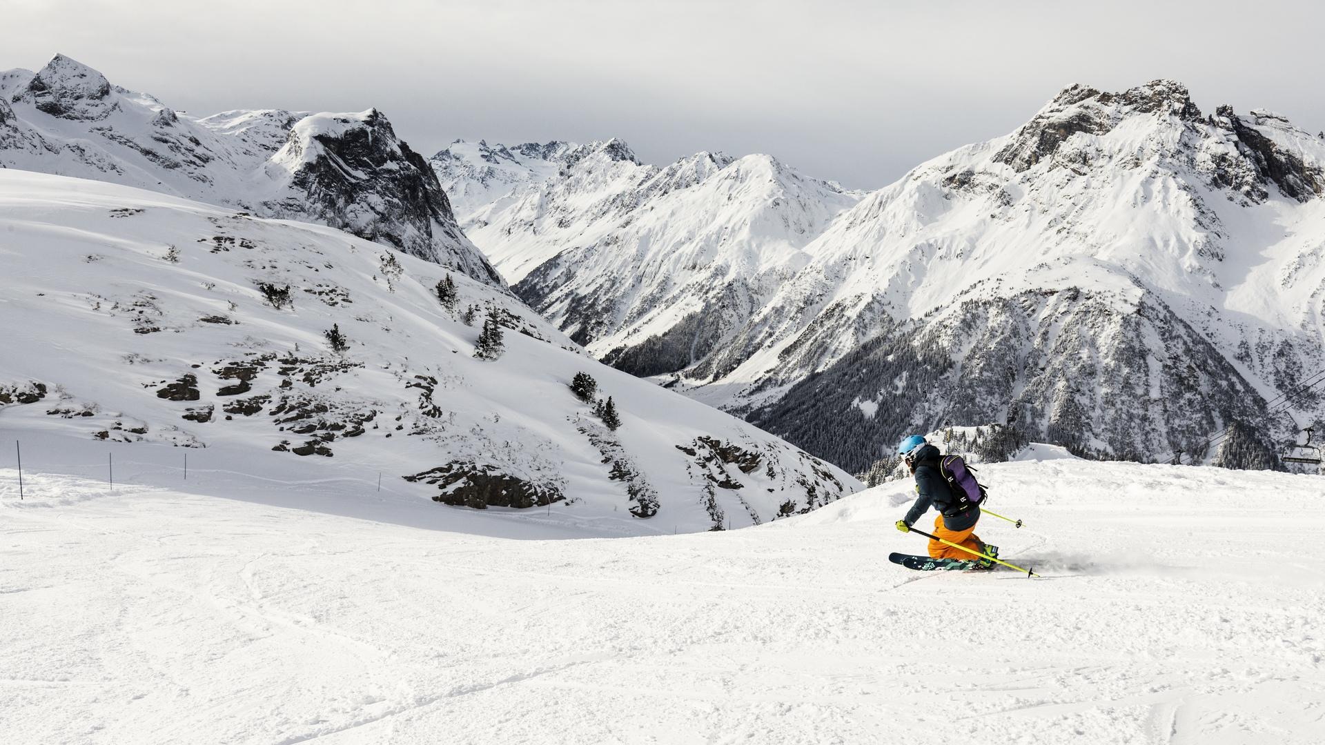 Le domaine skiable de Pralognan-la-Vanoise