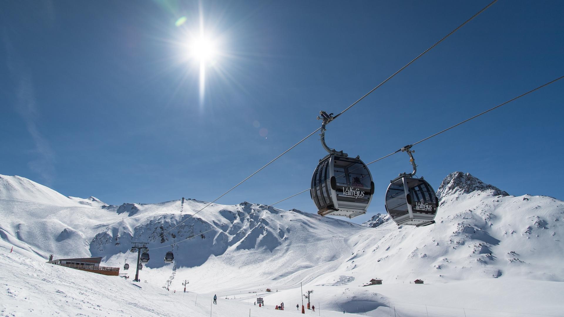 Valfréjus domaine skiable et remontées mécaniques