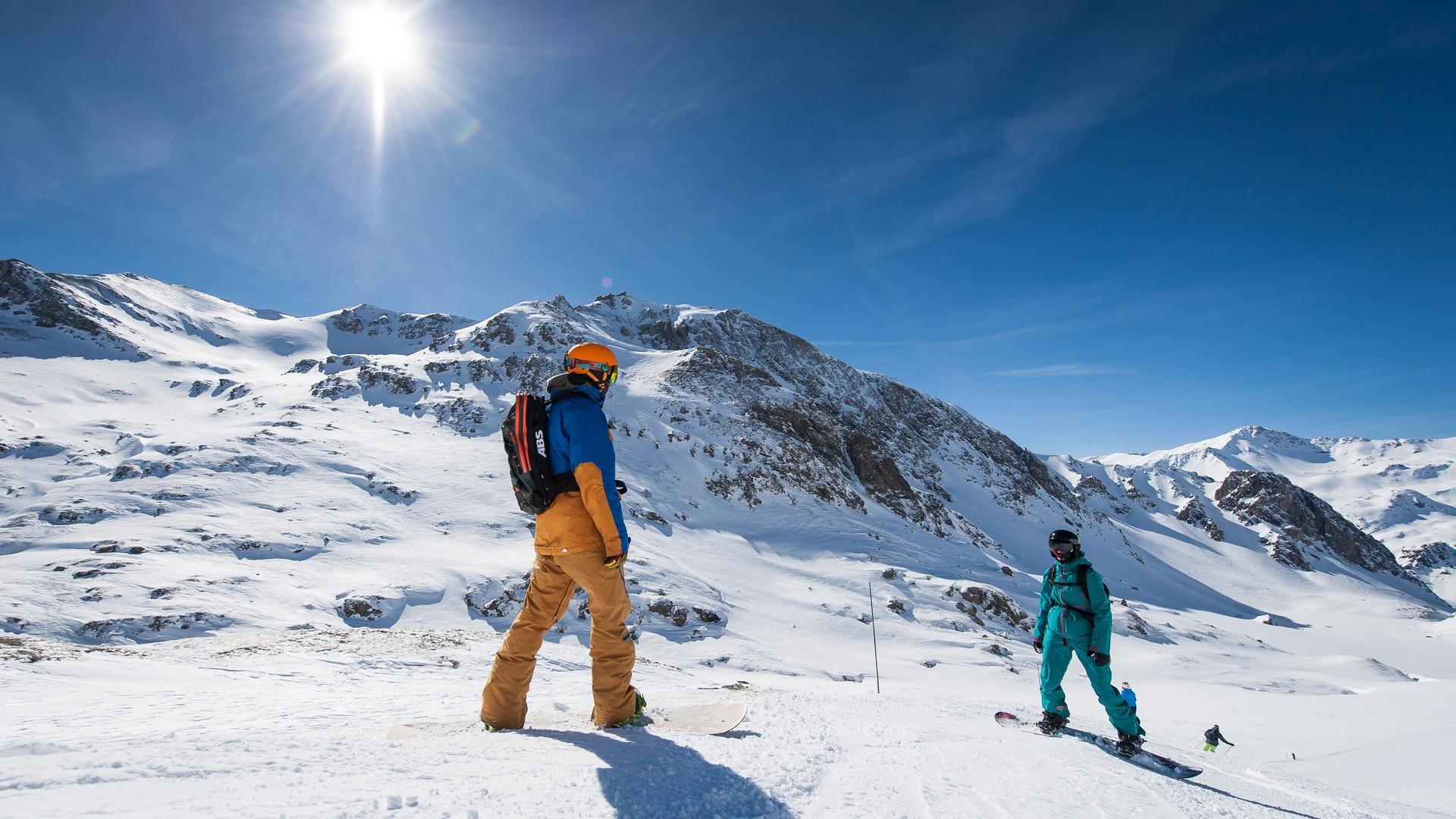 Pistes de ski de Valfréjus