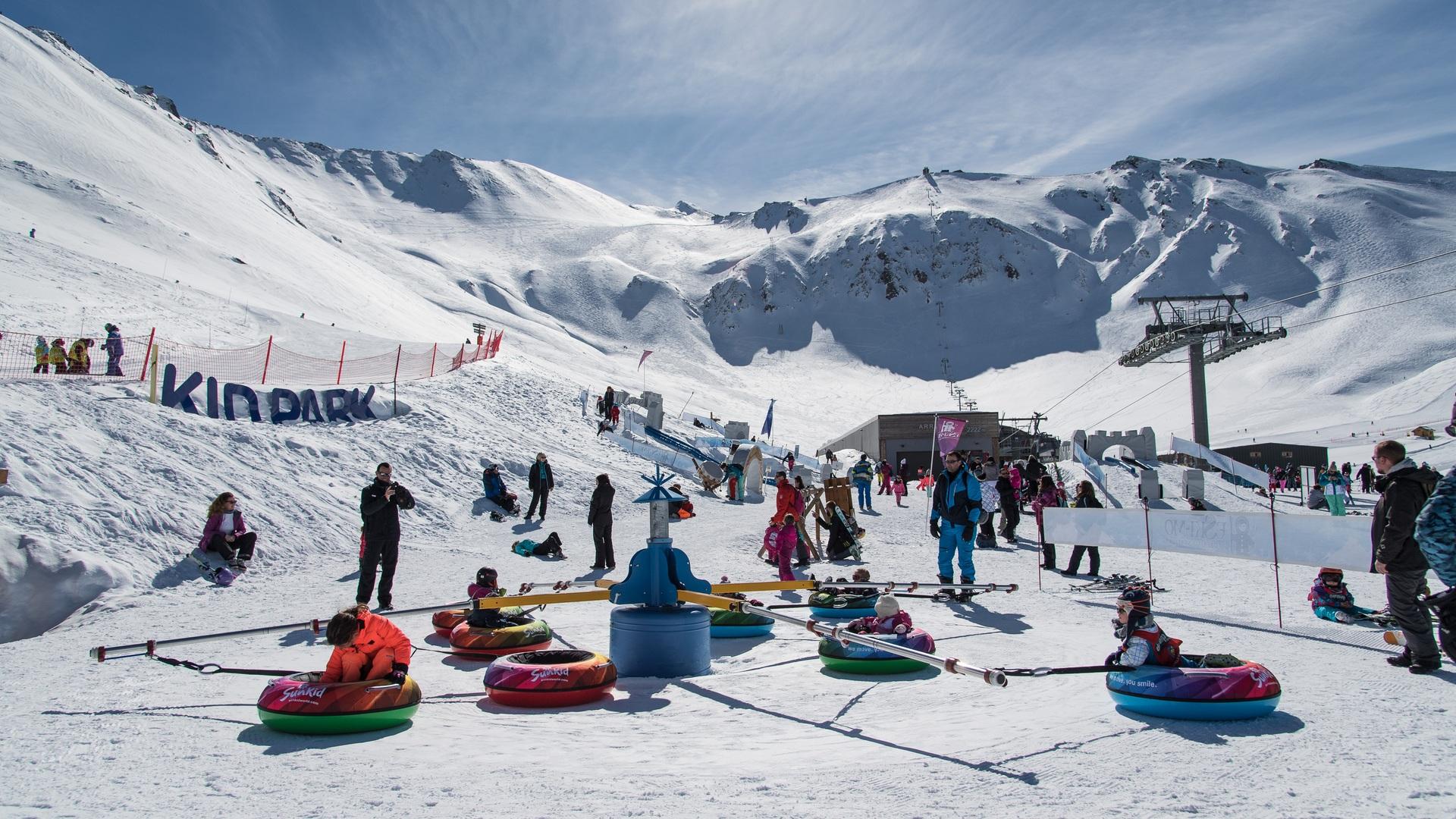 Domaine skiable Valfréjus, kid park