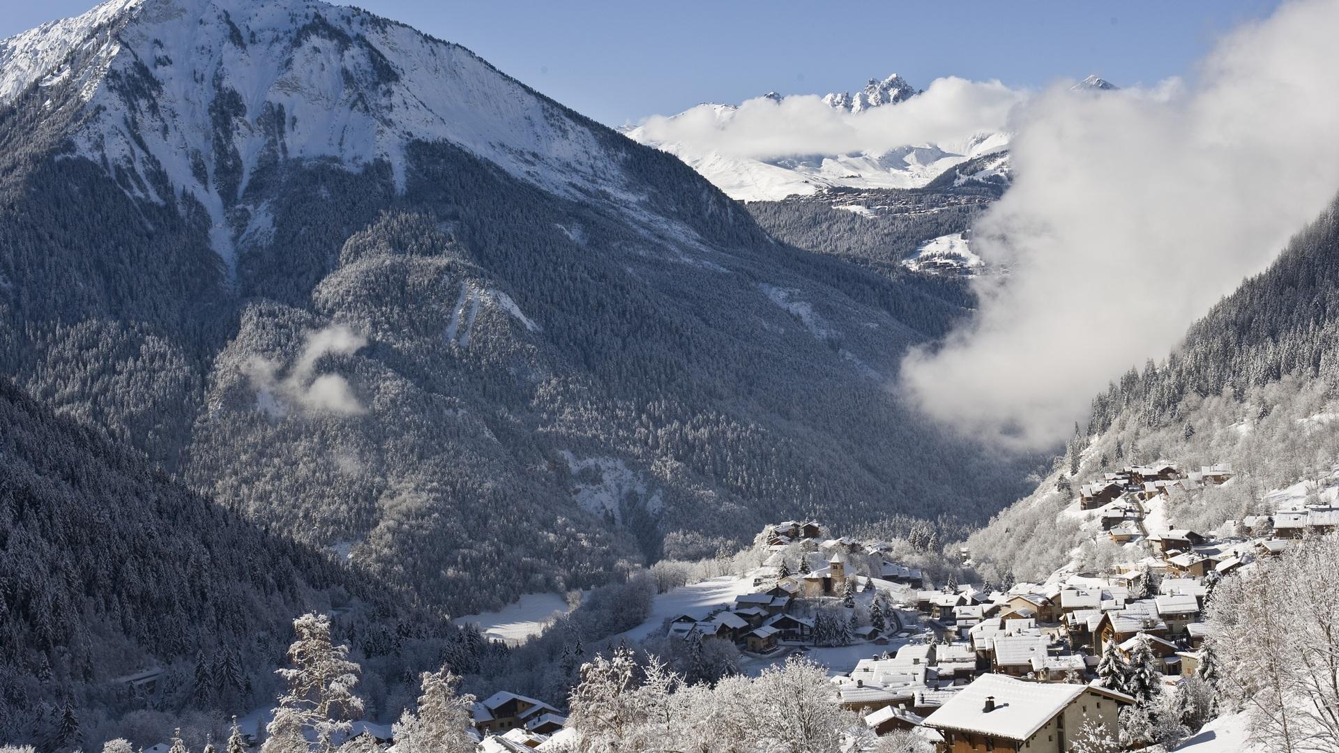 Champagny village - hiver