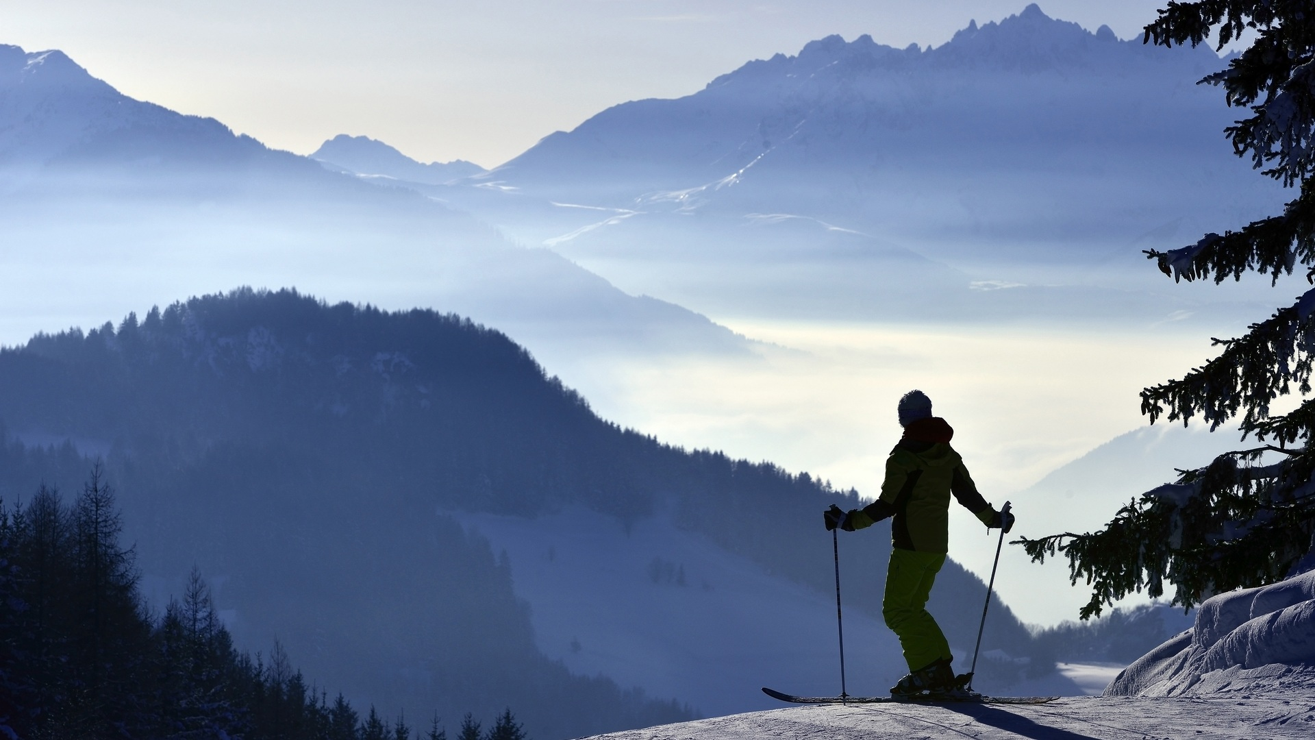 Le domaine skiable de Montalbert