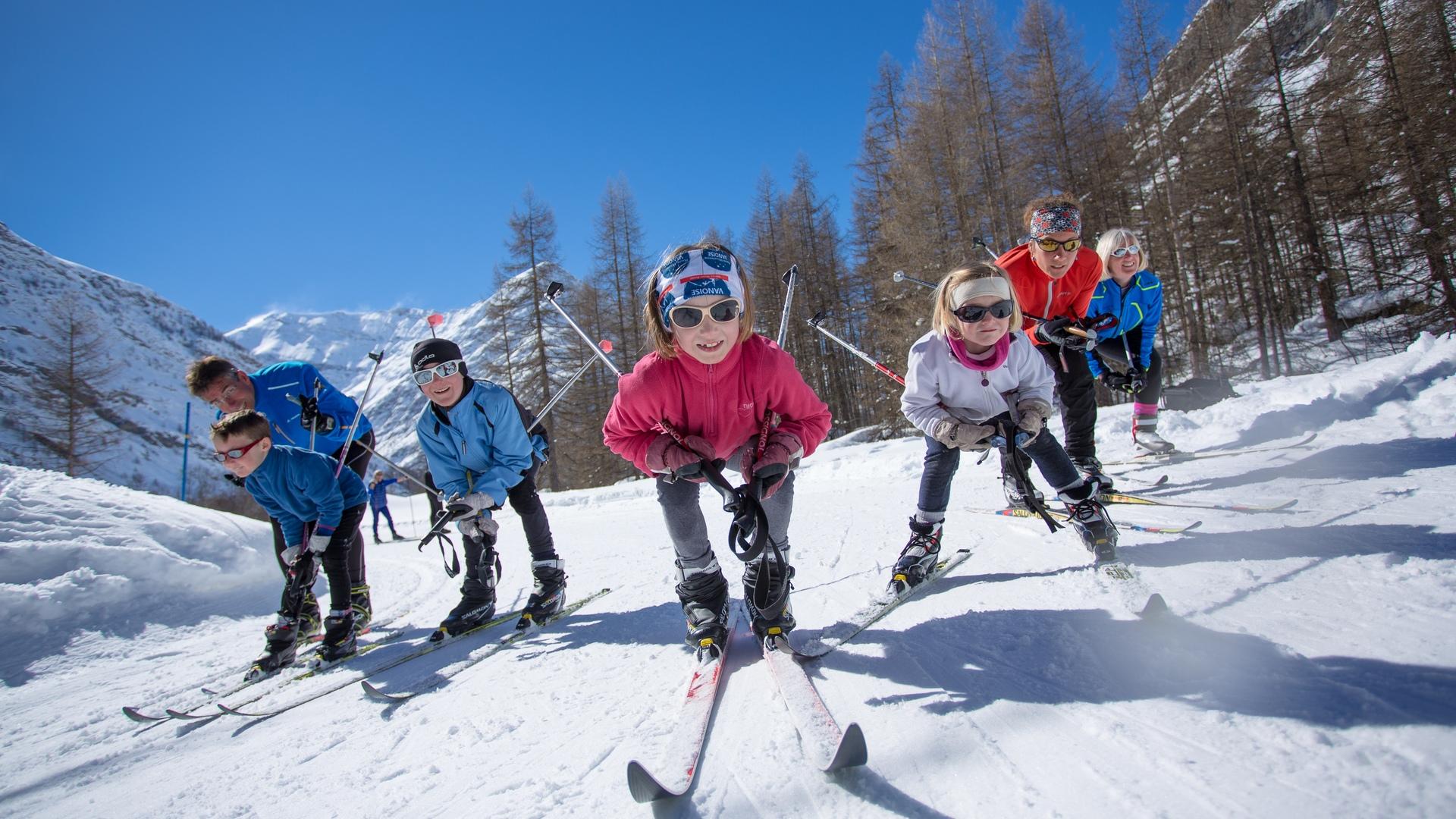 Ski nordique à Bessans