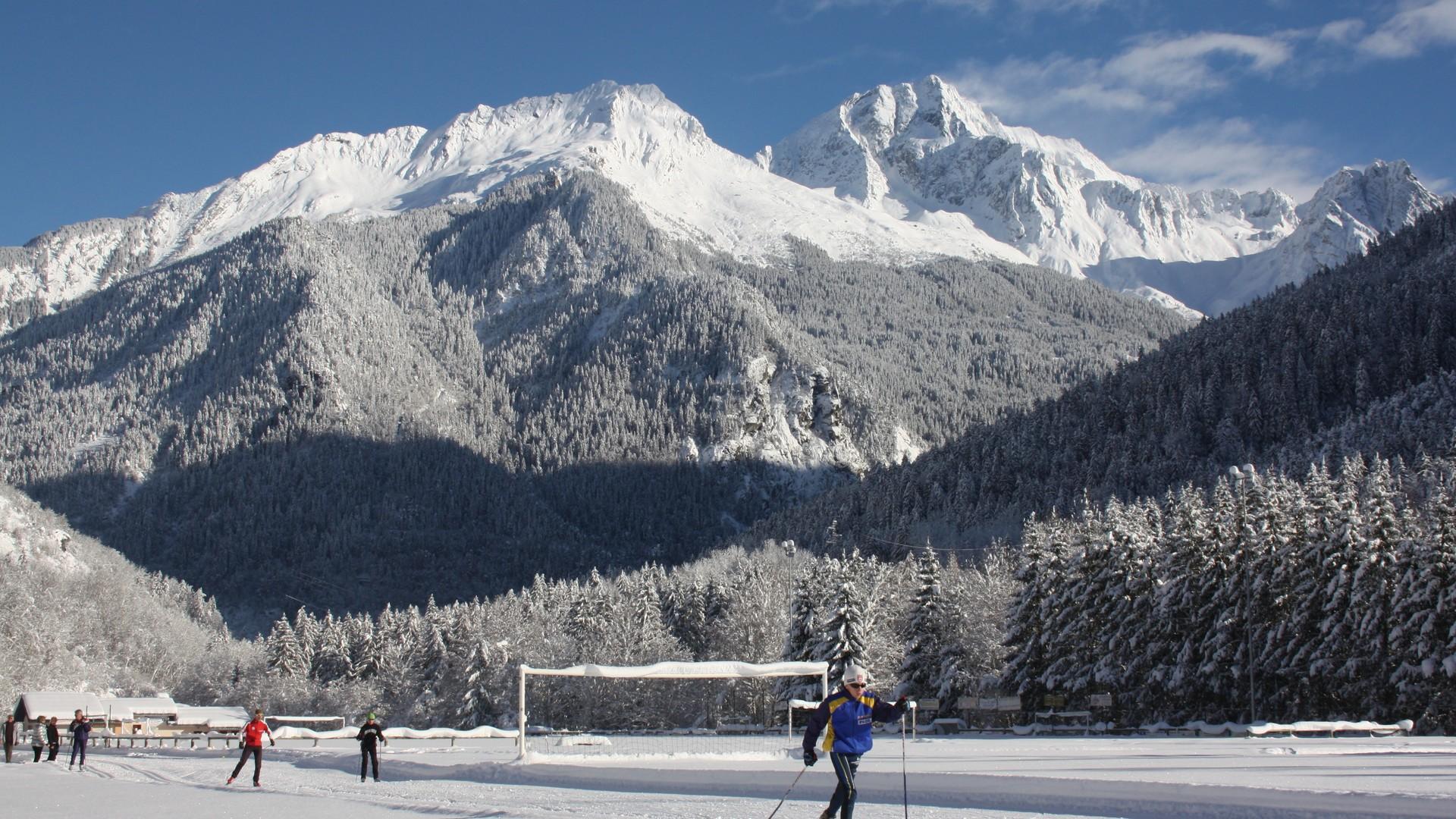 Bozel ski de fond