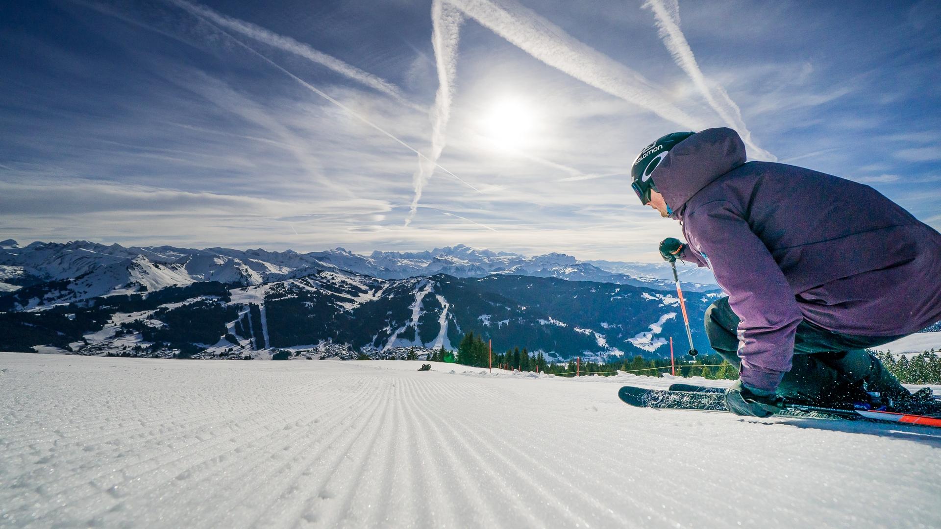 Ski aux Gets sur le Mont-Chéry