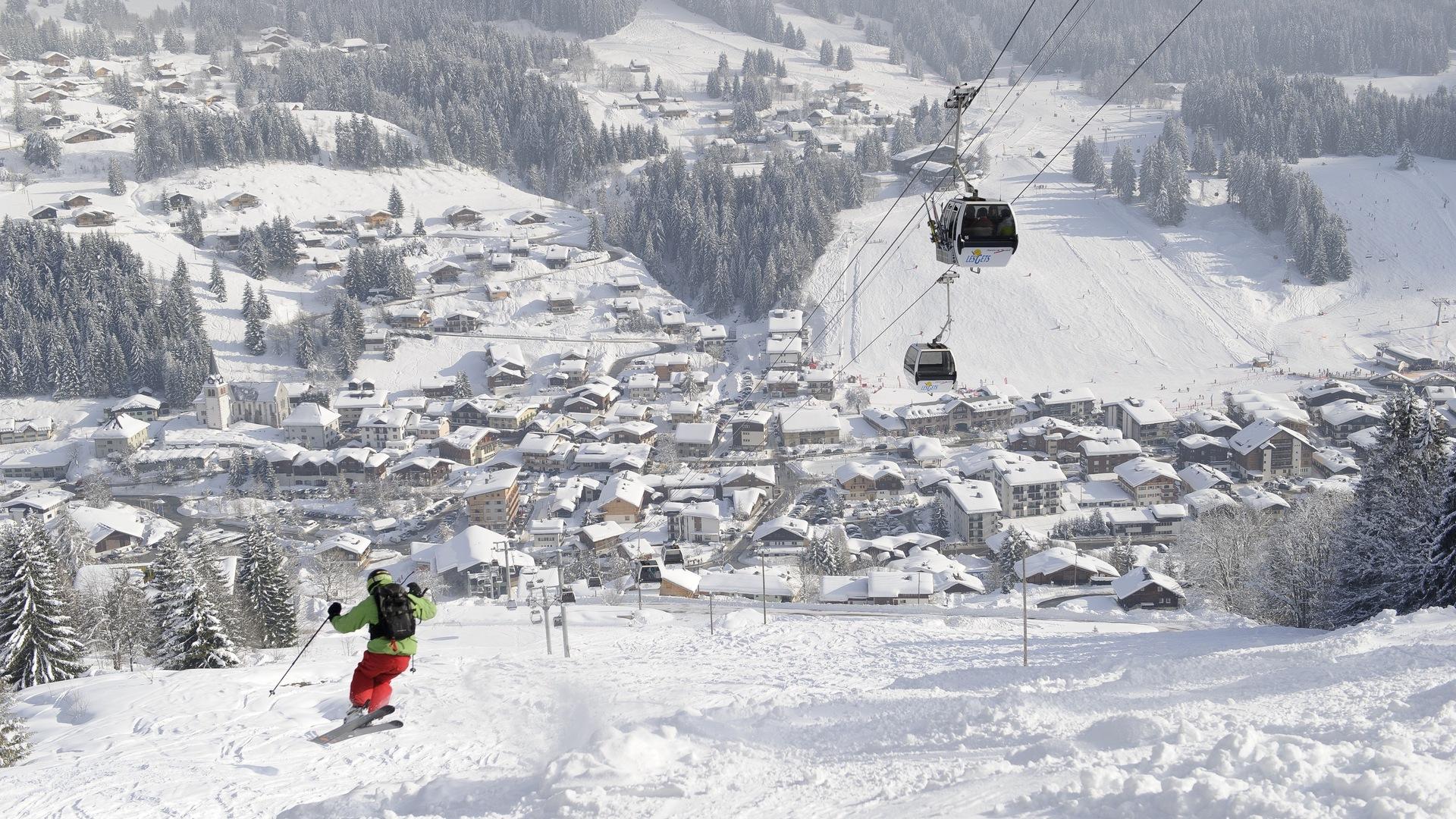 Ski-Nicolas Joly-OT Les Gets
