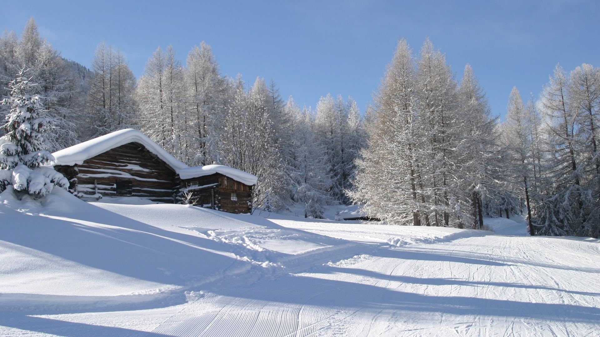 Paysage d'hiver à La Norma