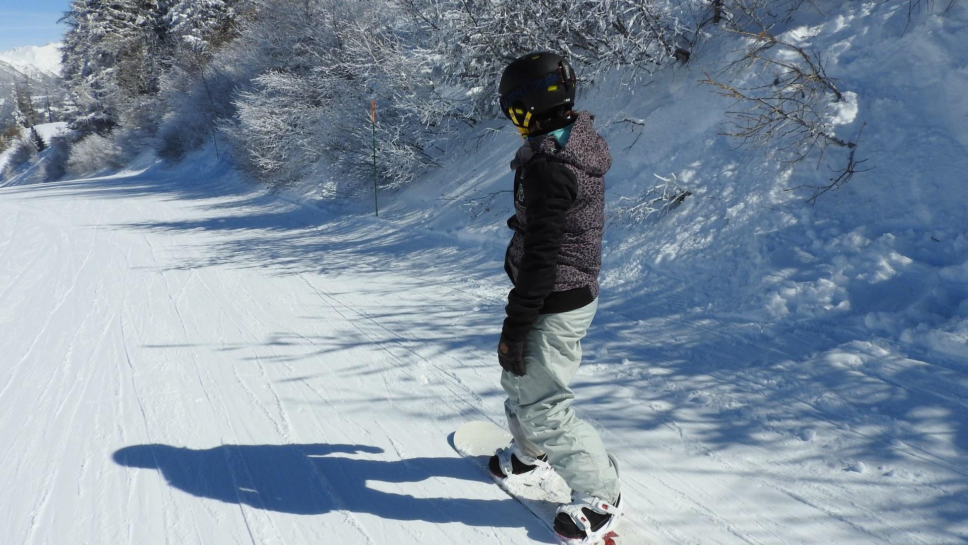 Station de La Norma, snowboard