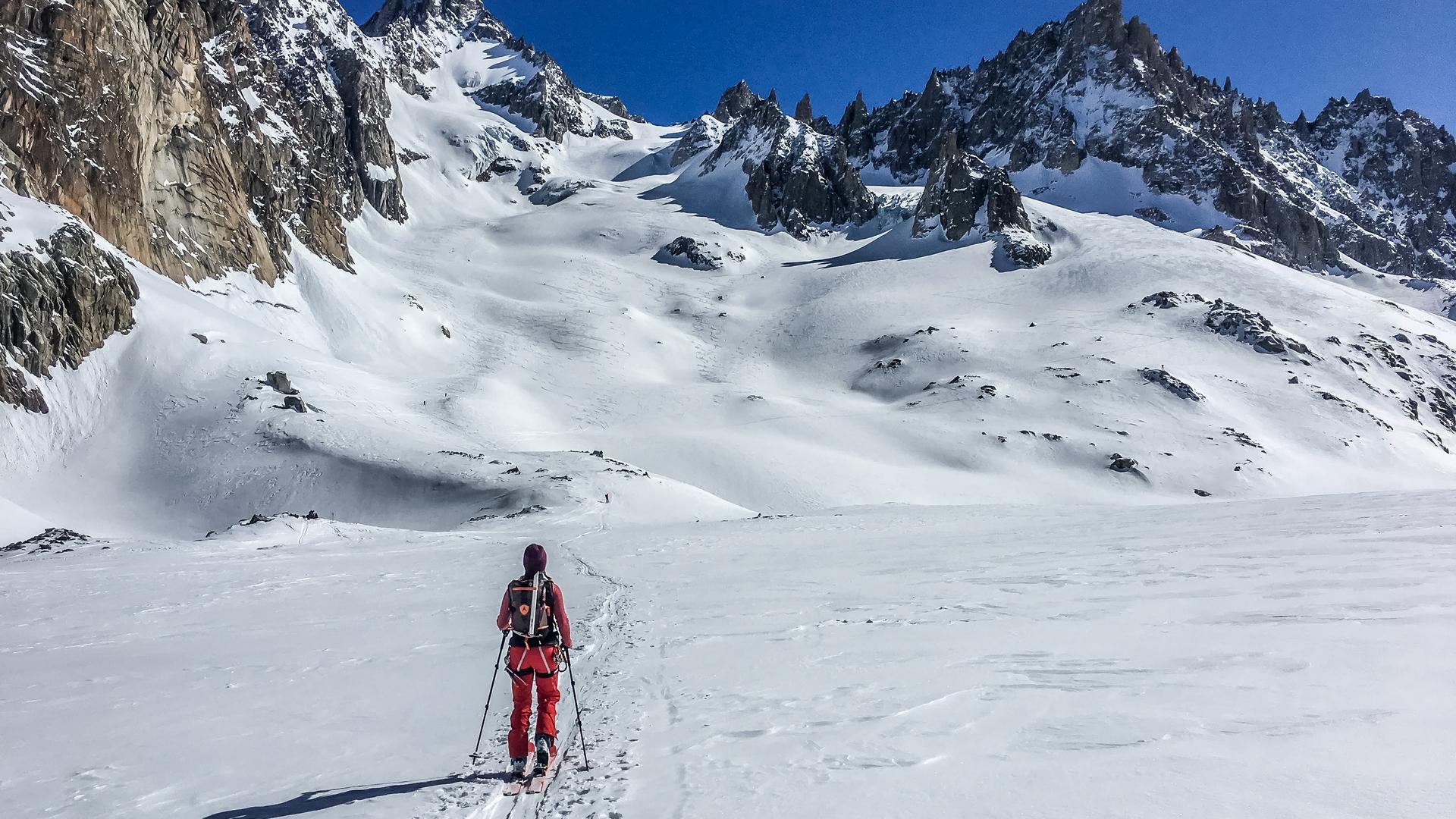 Argentiere-ski-de-randonnée