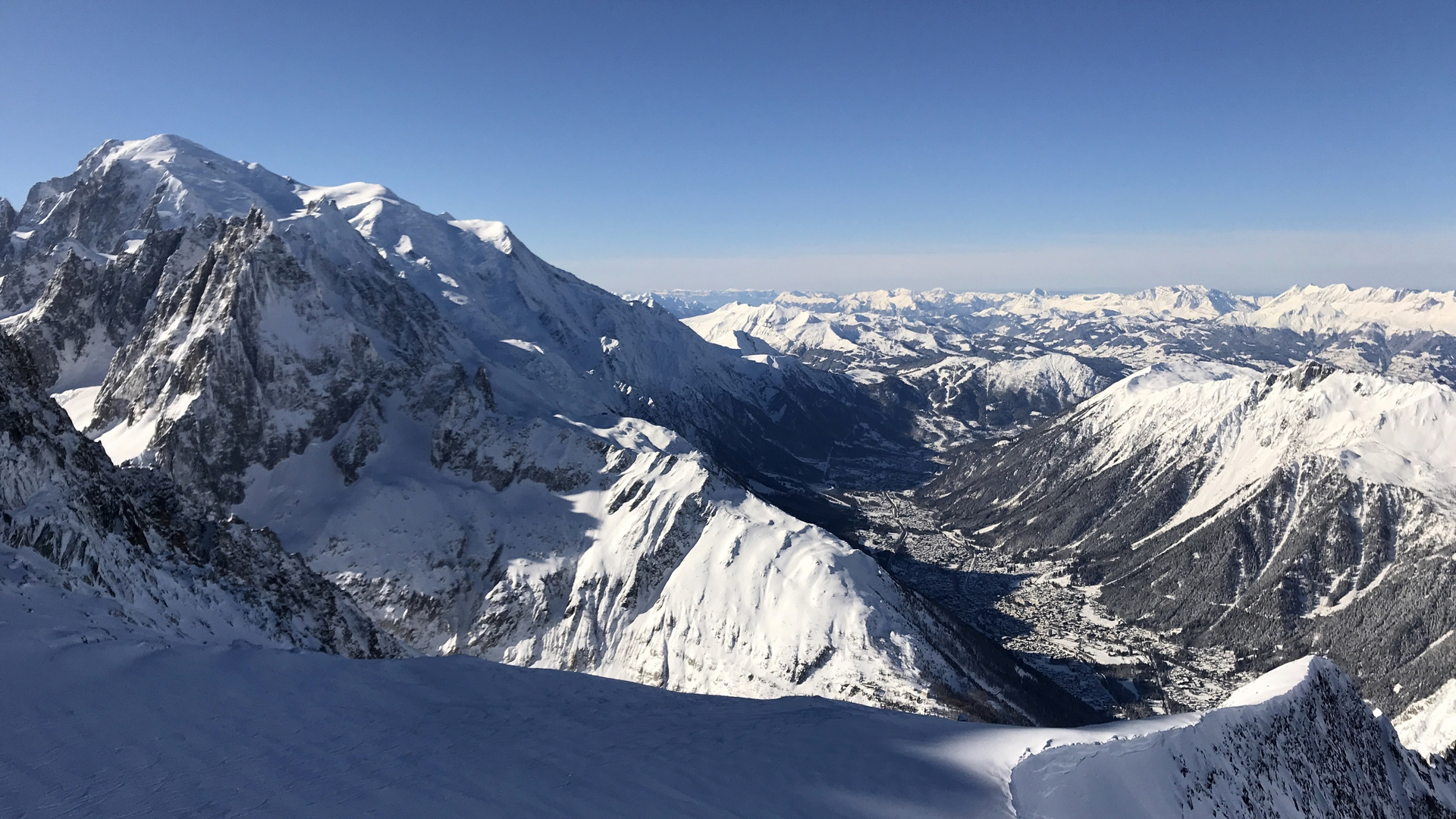 Argentiere domaine skiable