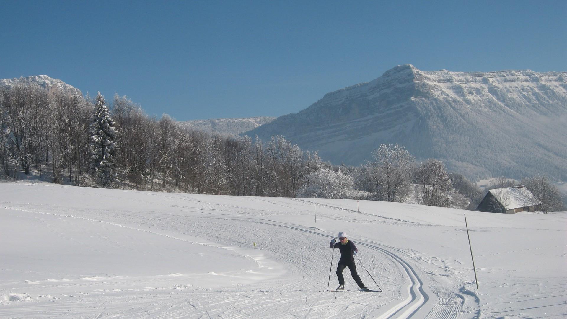 Station ski nordique - Le Désert d'Entremont