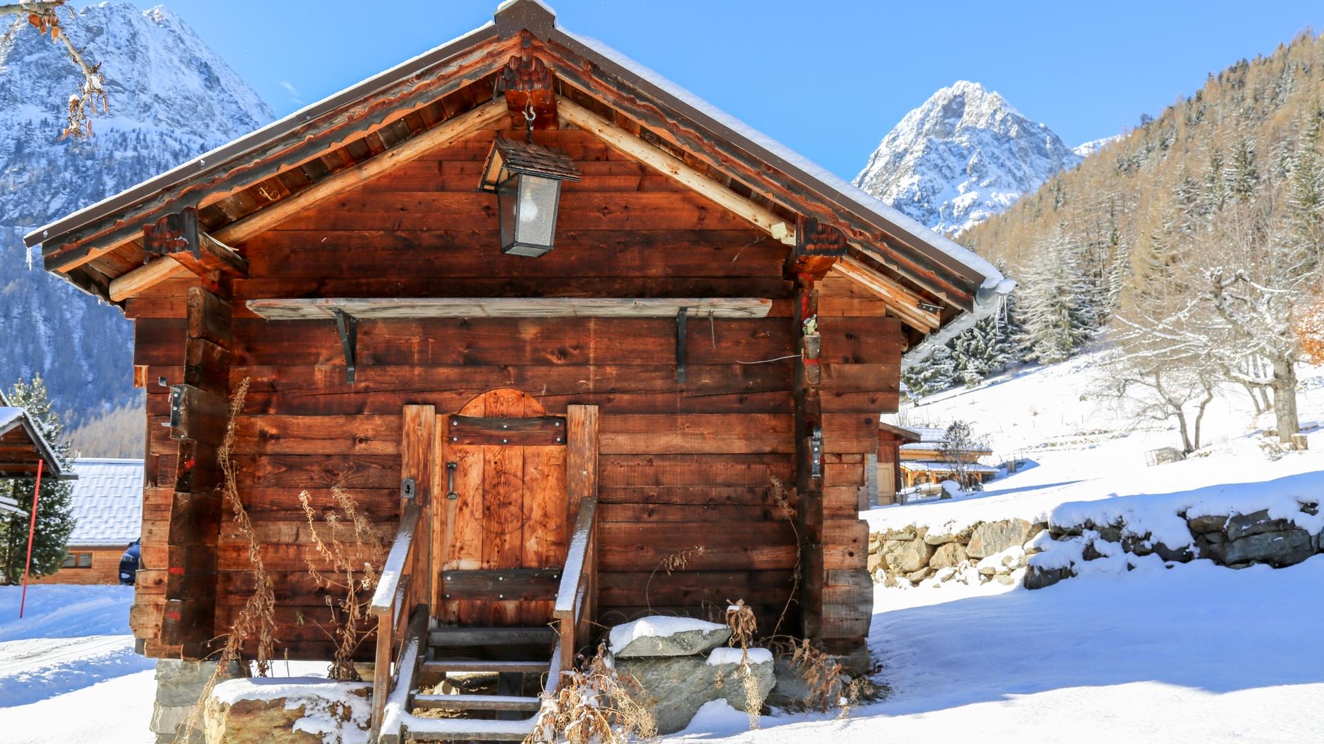 Vallorcine-Grenier en hiver