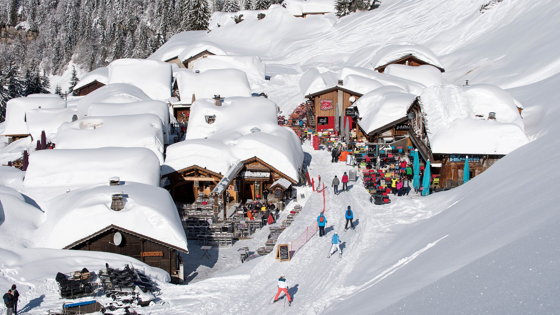 Ski aux Lindarets