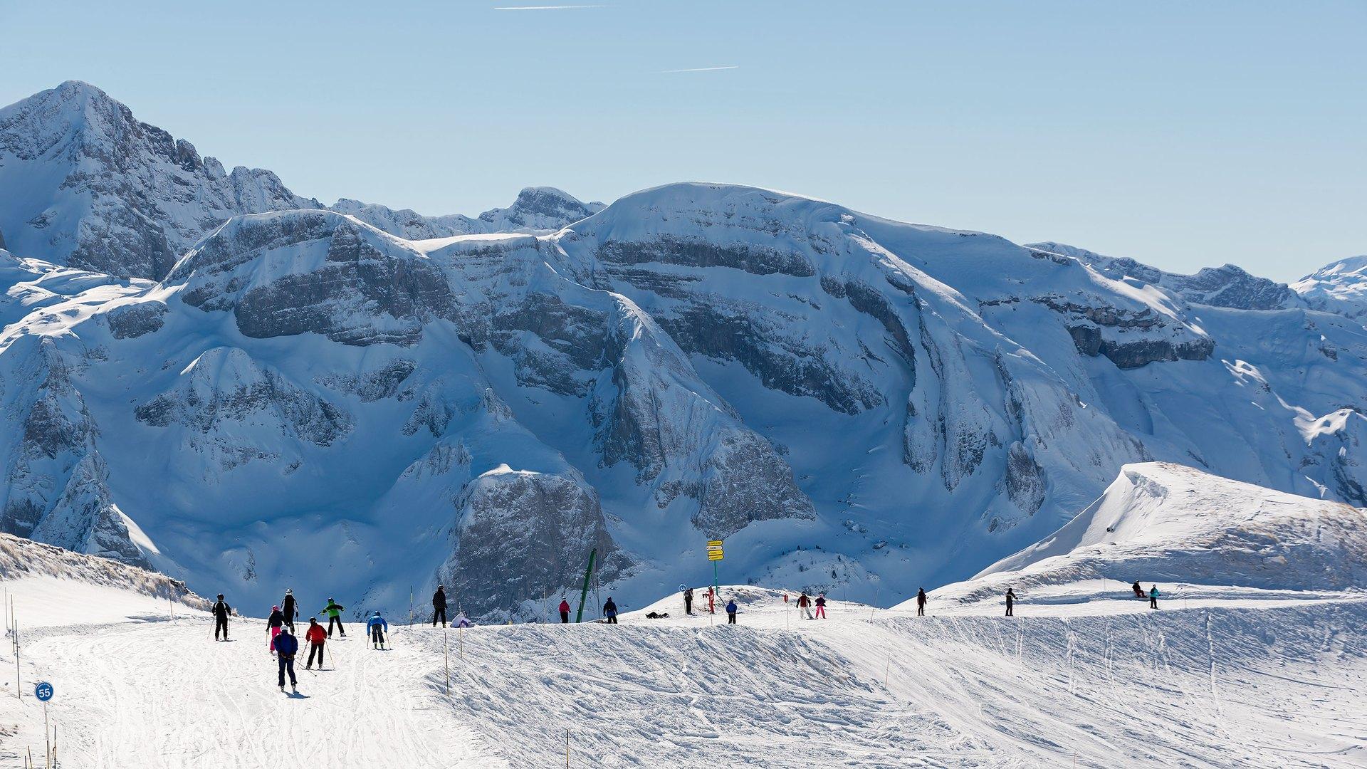 Ski à Montriond, domaine skiable d'Avoriaz