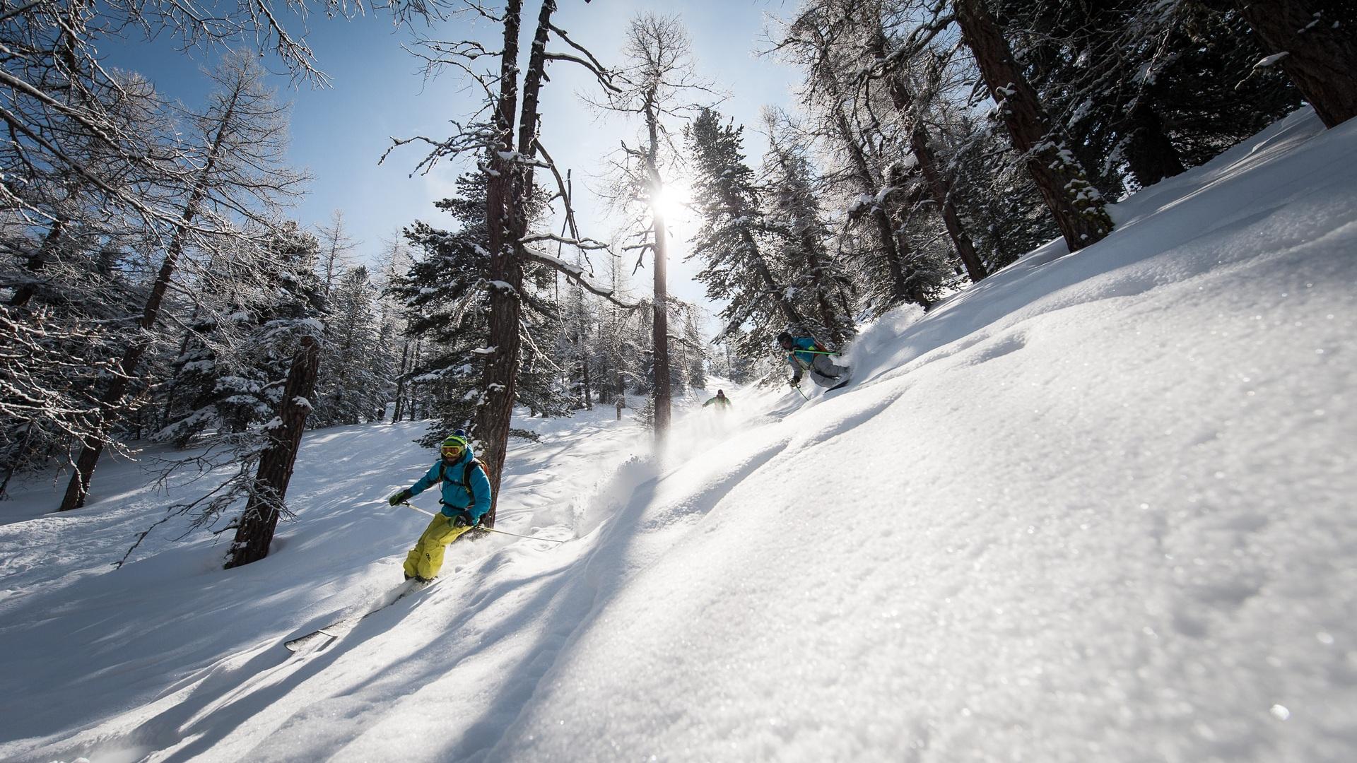 Val Cenis neige en forêt