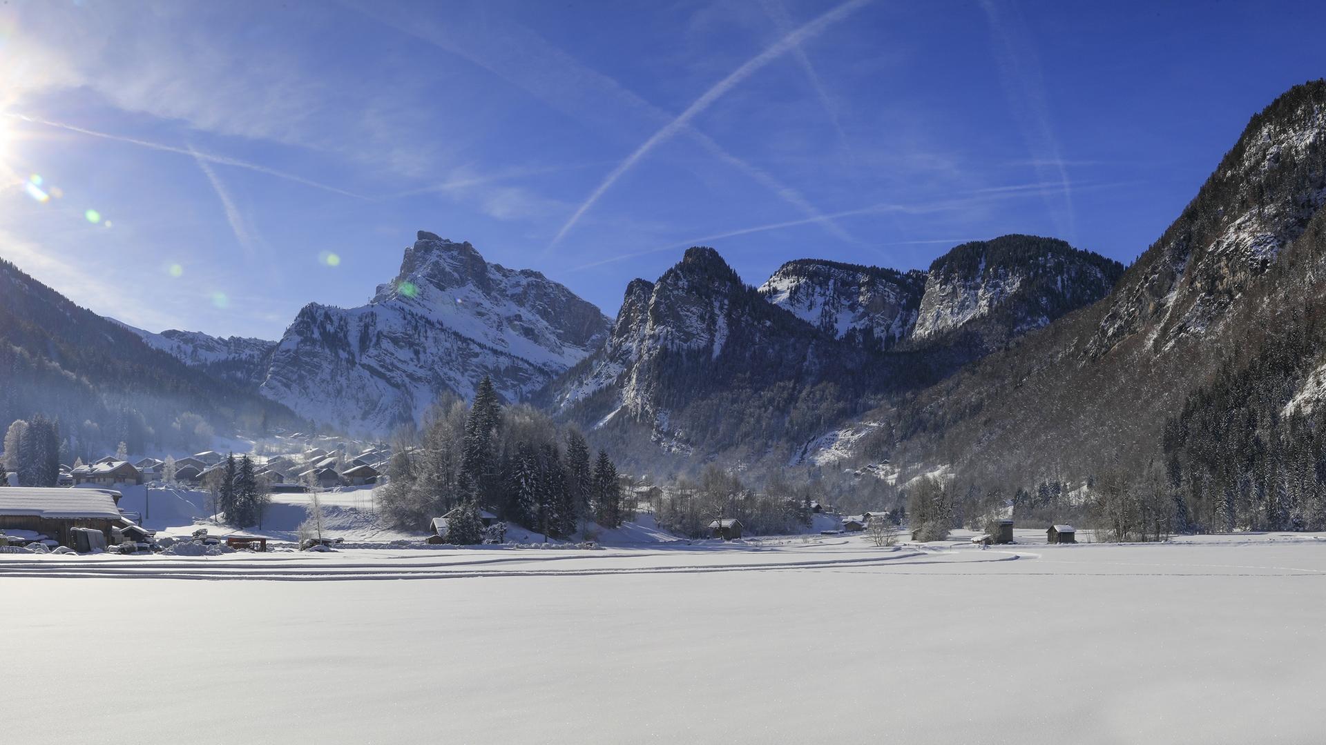 Panoramique Sixt-Fer-à-Cheval