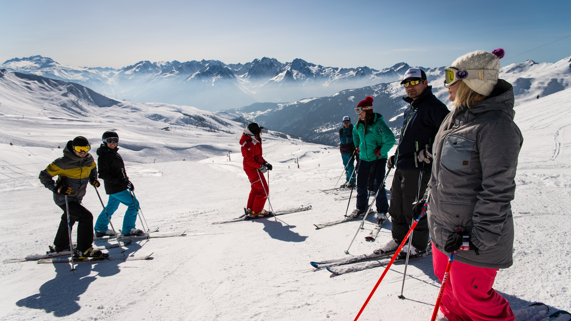 Ski à Saint François Longchamp
