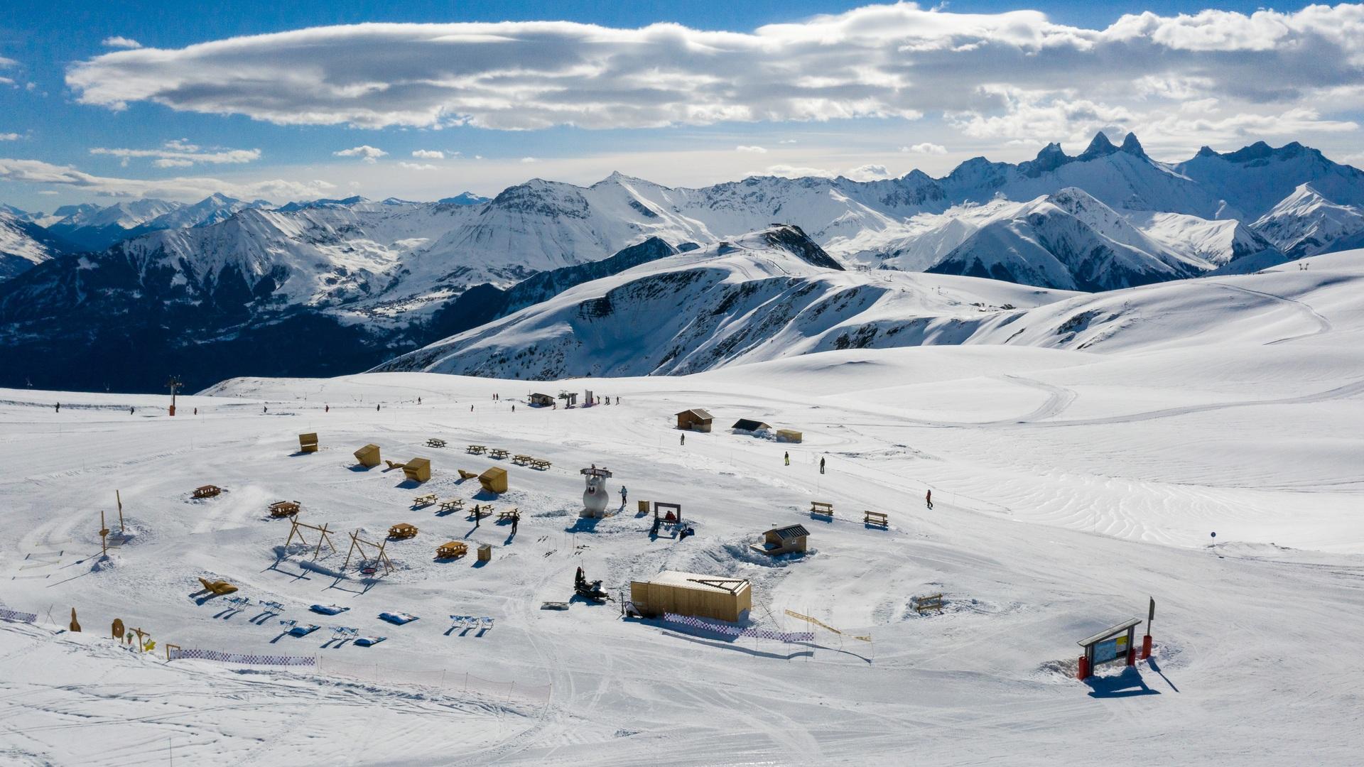 Snowpy Mountain vue générale