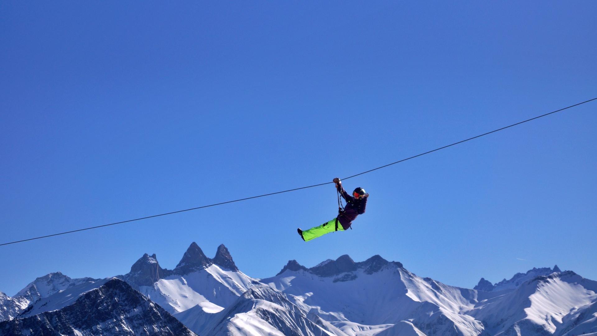 La Tyrolienne de La Toussuire