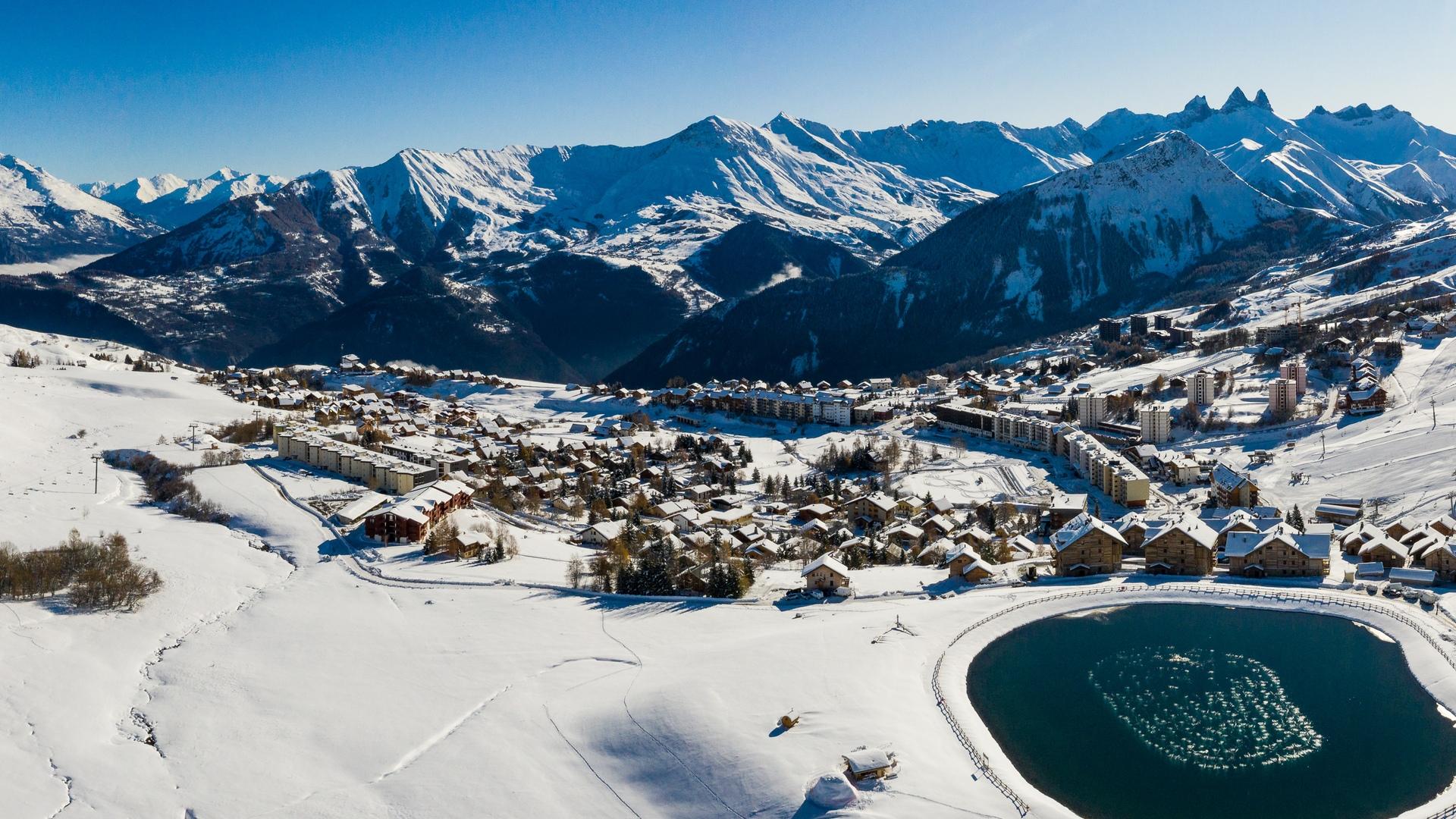Panorama sur La Toussuire