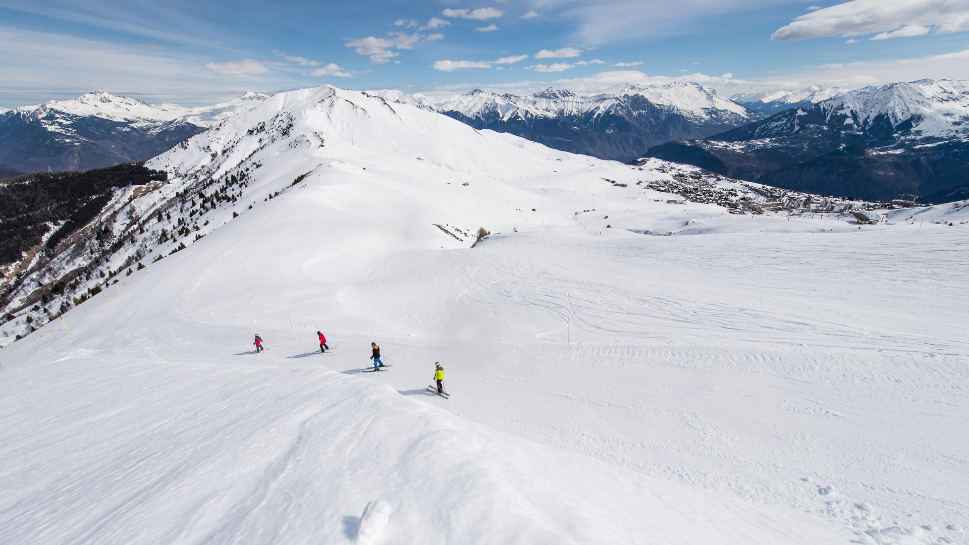 Skier @LaToussuire