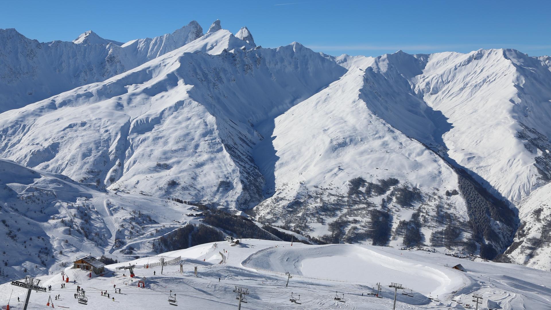 Valloire - le domaine skiable