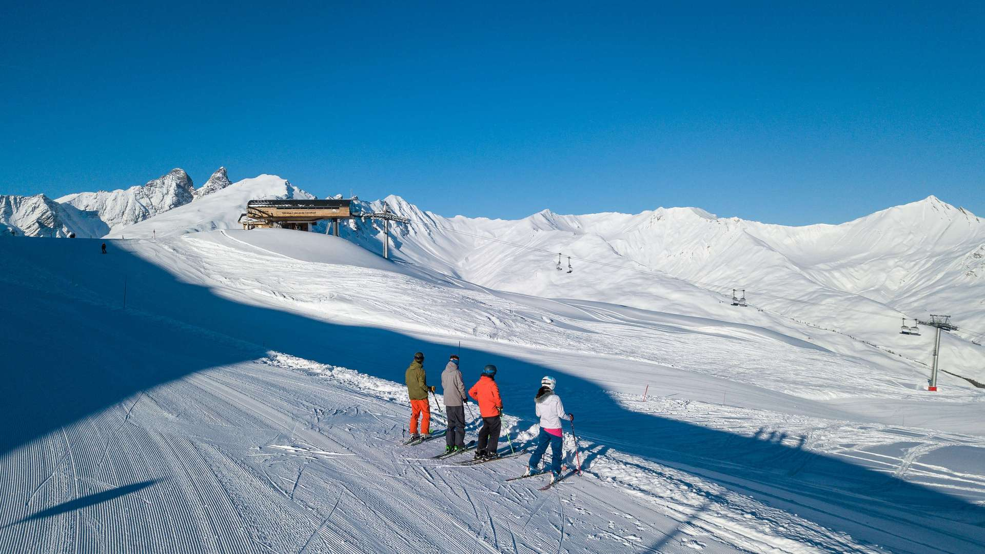 Ski de piste à Valloire sur le domaine Galibier thabor