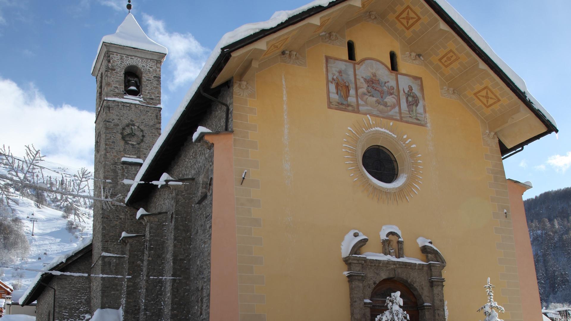 Valloire - Eglise Notre Dame de l'Assomption