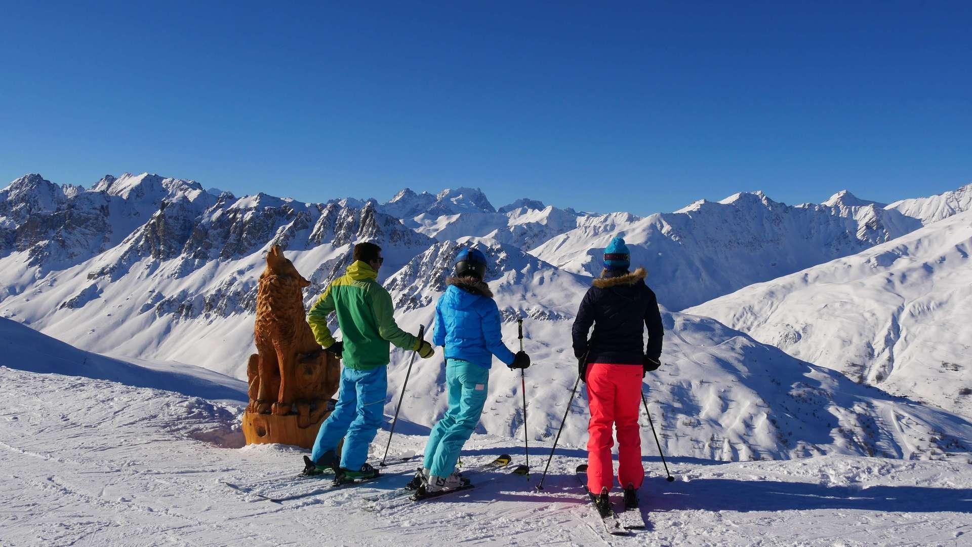 Ski de piste sur le domaine de Valloire Galibier Thabor