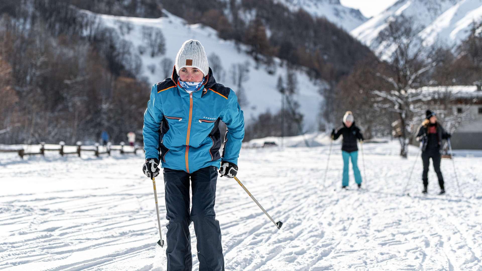Ski de fond à Valloire