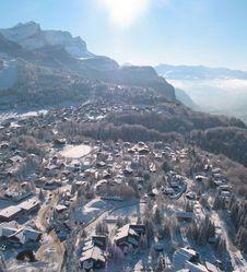 Ski alpin aux Carroz