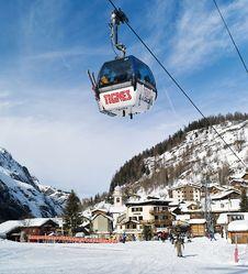 Ski alpin à Tignes Les Brevieres