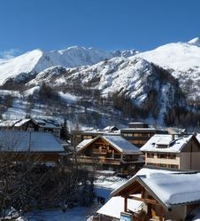 Ski alpin à Valloire