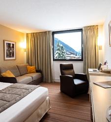 Ski alpin à Chamonix Mont-Blanc