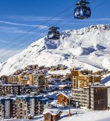 Ski alpin à Val Thorens