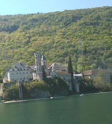Lac du Bourget et massif des Bauges