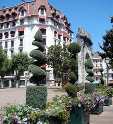 Ambiance Belle Epoque à Aix les Bains