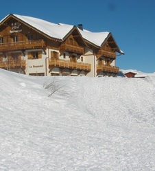 Ski alpin à la Toussuire