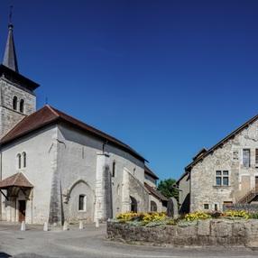 Eglise classée de Yenne image