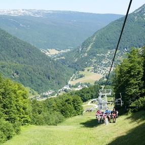 Télésiège du Mont Pelat