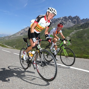 The B.R.A. alpine cycling event