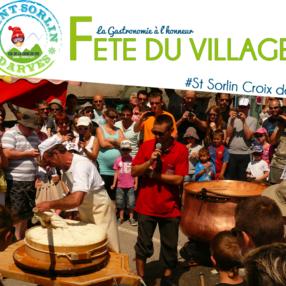 Fête du village - La gastronomie à l'honneur