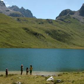 Le lac de la Plagne