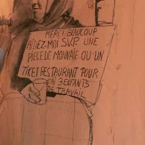 Projection du documentaire En face(s) de soi /Mylène Besson, peintre