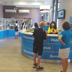 Office de Tourisme Intercommunal Aix les Bains Riviera des Alpes / Accueil d'Aix-les-Bains