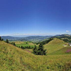La pointe des Brasses, c'est le Mont-Blanc à portée de main.