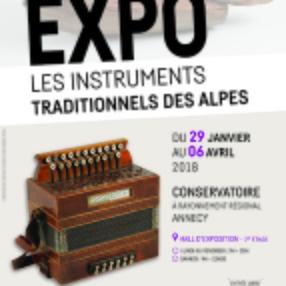 Exposition: Les instruments Traditionnels des Alpes