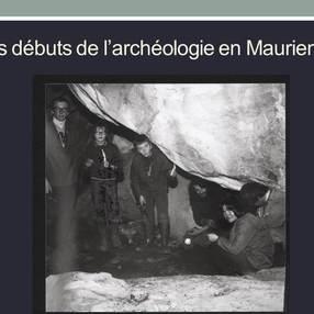 Conférence Le passé de la Maurienne par l'archéologie
