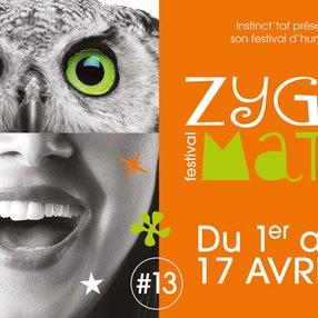 En marche de Romain Barreda au Zygomatic Festival