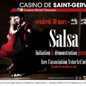 Soirée Salsa au casino